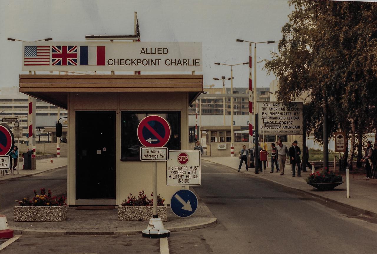 Oct 1987 Border Crossing Berlin