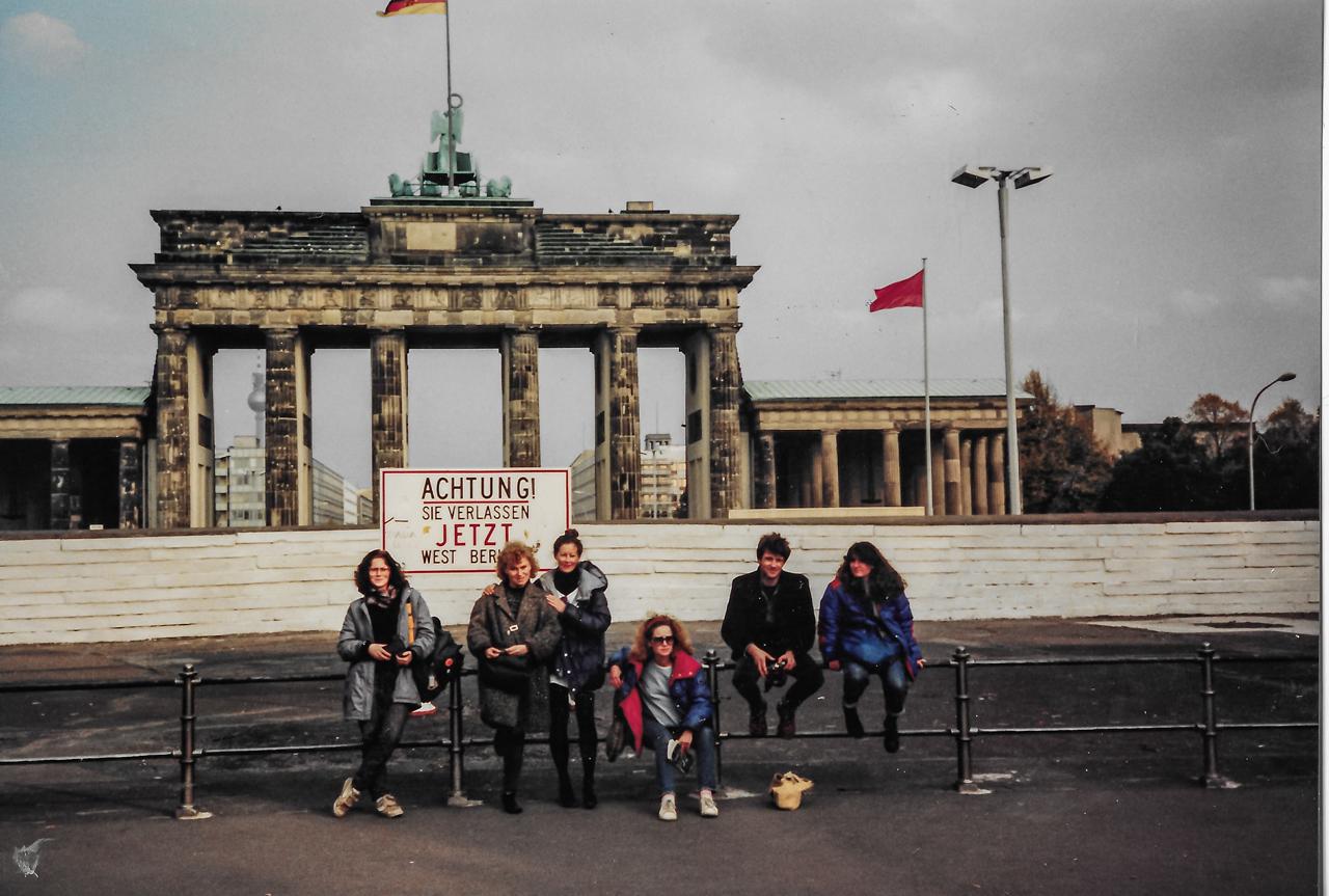 Oct 1987 Brandenberg Gate West Berlin