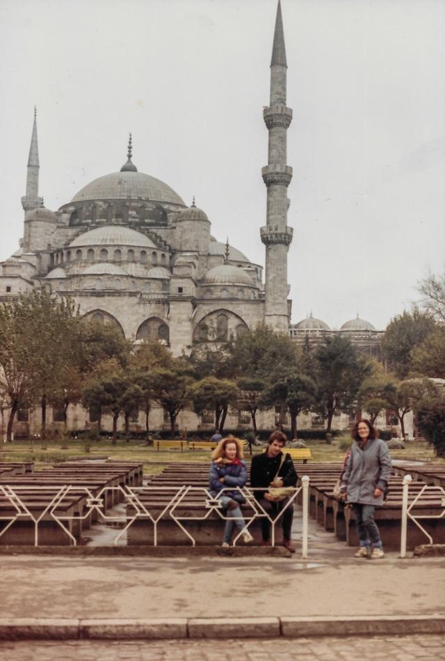 Nov 1987 Blue Mosque Istanbul