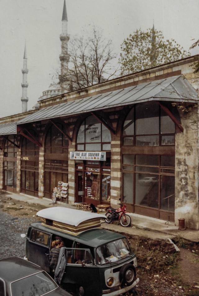 Nov 1987 Istanbul Campsite
