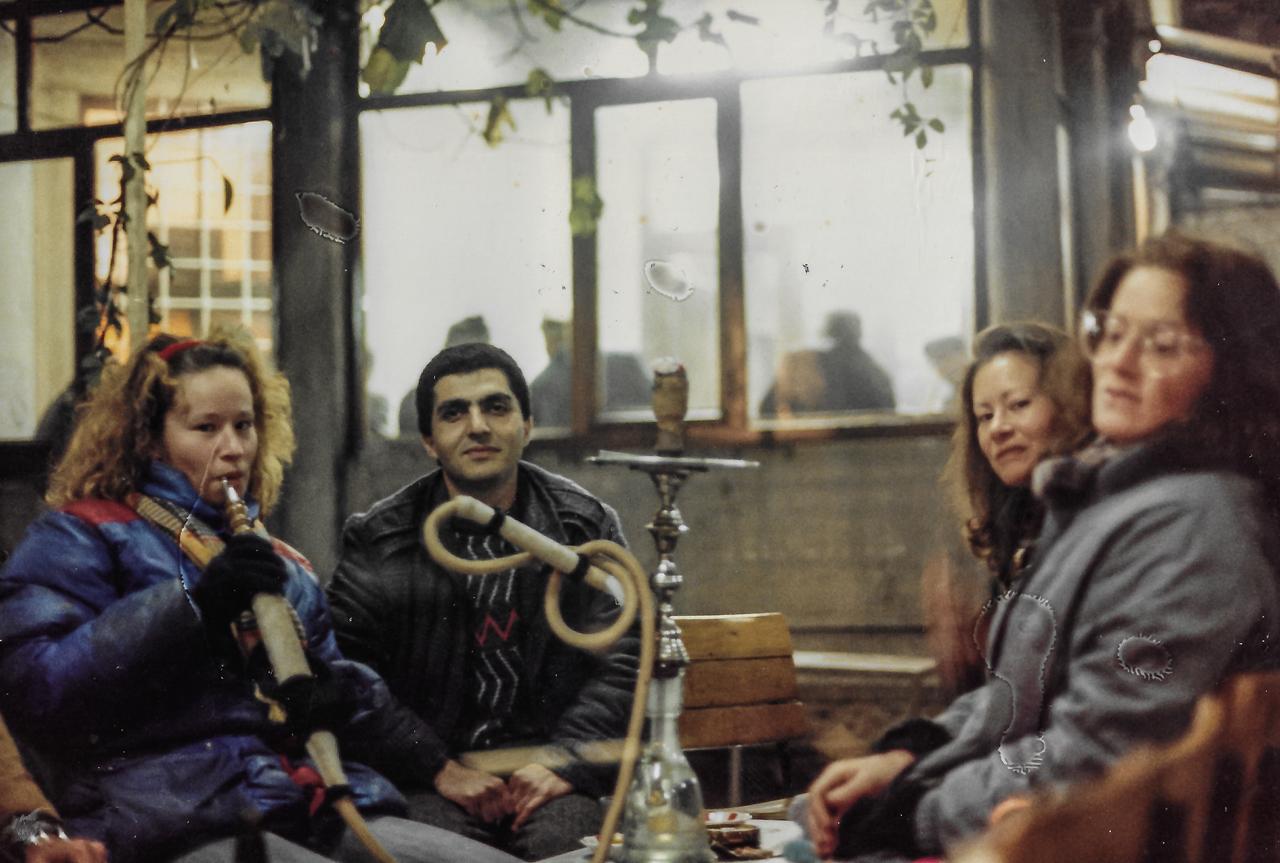 Nov 1987 Istanbul with Typhun