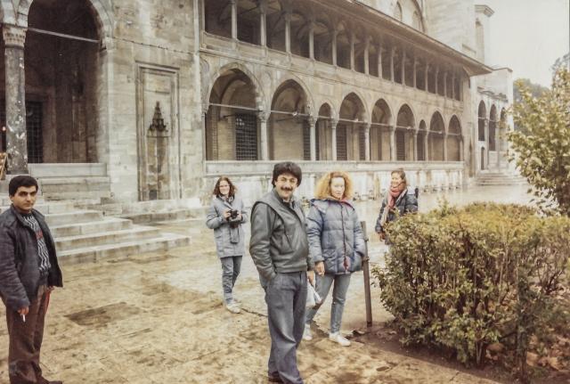 Nov 1987 Soluman and Typhun Istanbul