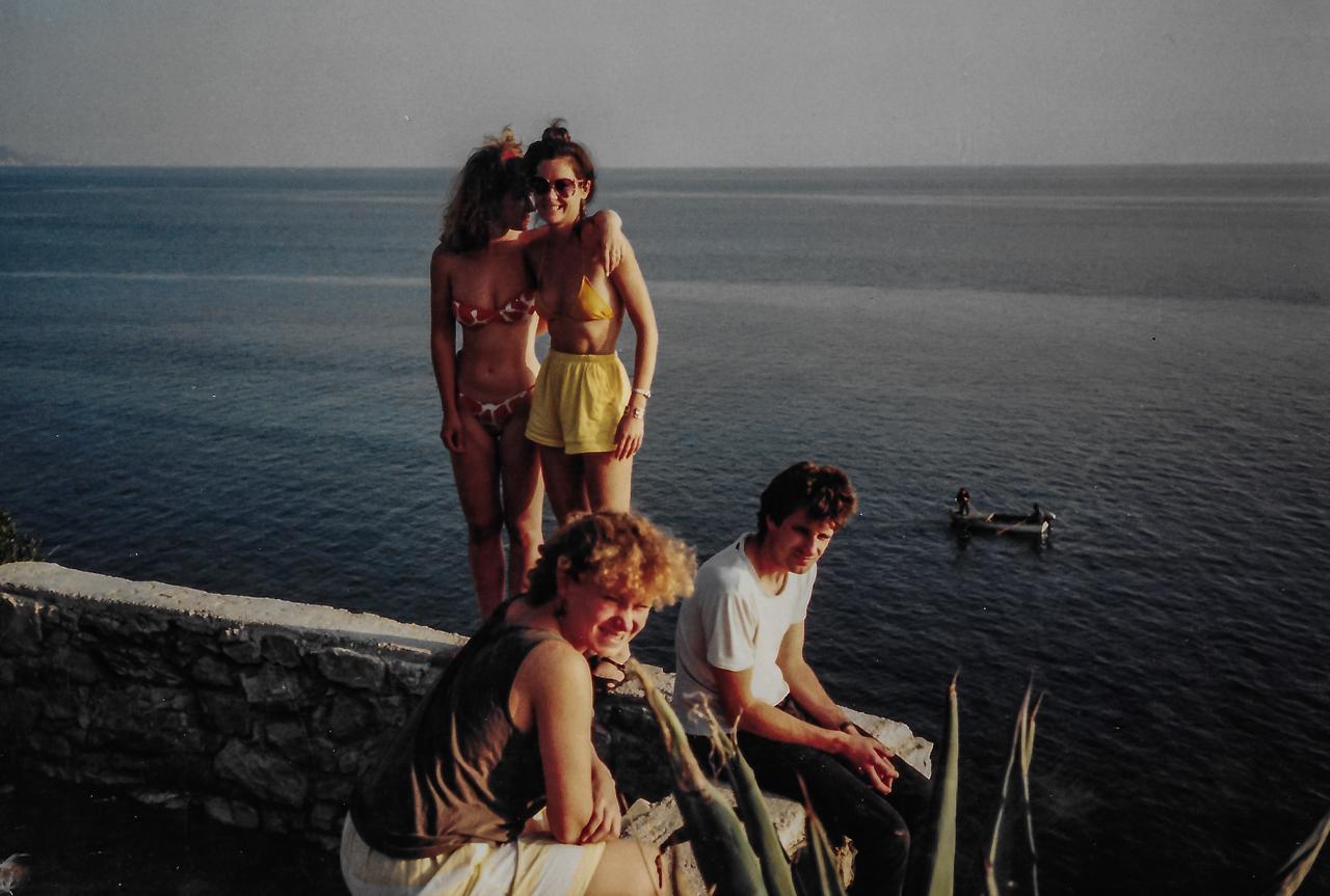 Nov 1987 Split Campsite
