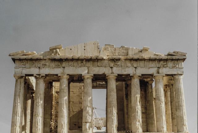Nov 1987 The Parthenon Athens